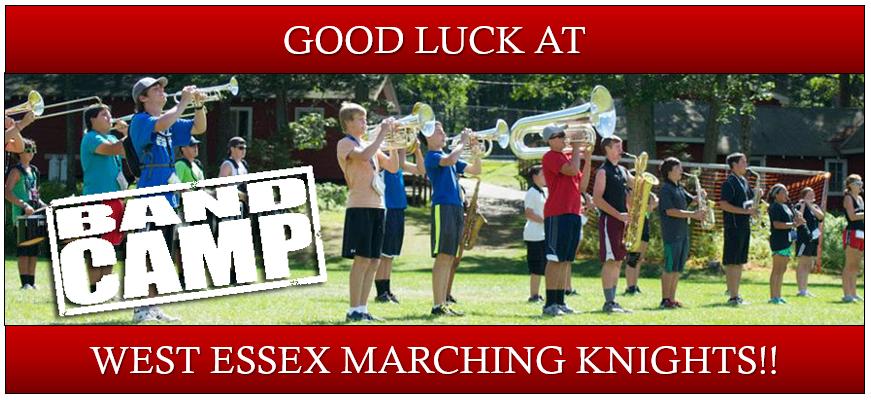 Good Luck at Band Camp - 2017