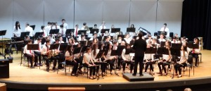Mr. Fitzke and the Award Winning West Essex Middle School Concert Band