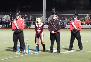 First Place, Best Music, Best Visual for the Marching Knights