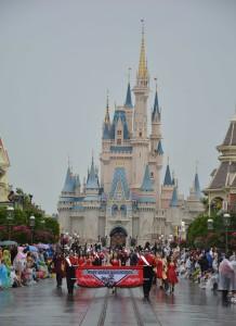 Marching Knights on Main Street U.S.A.