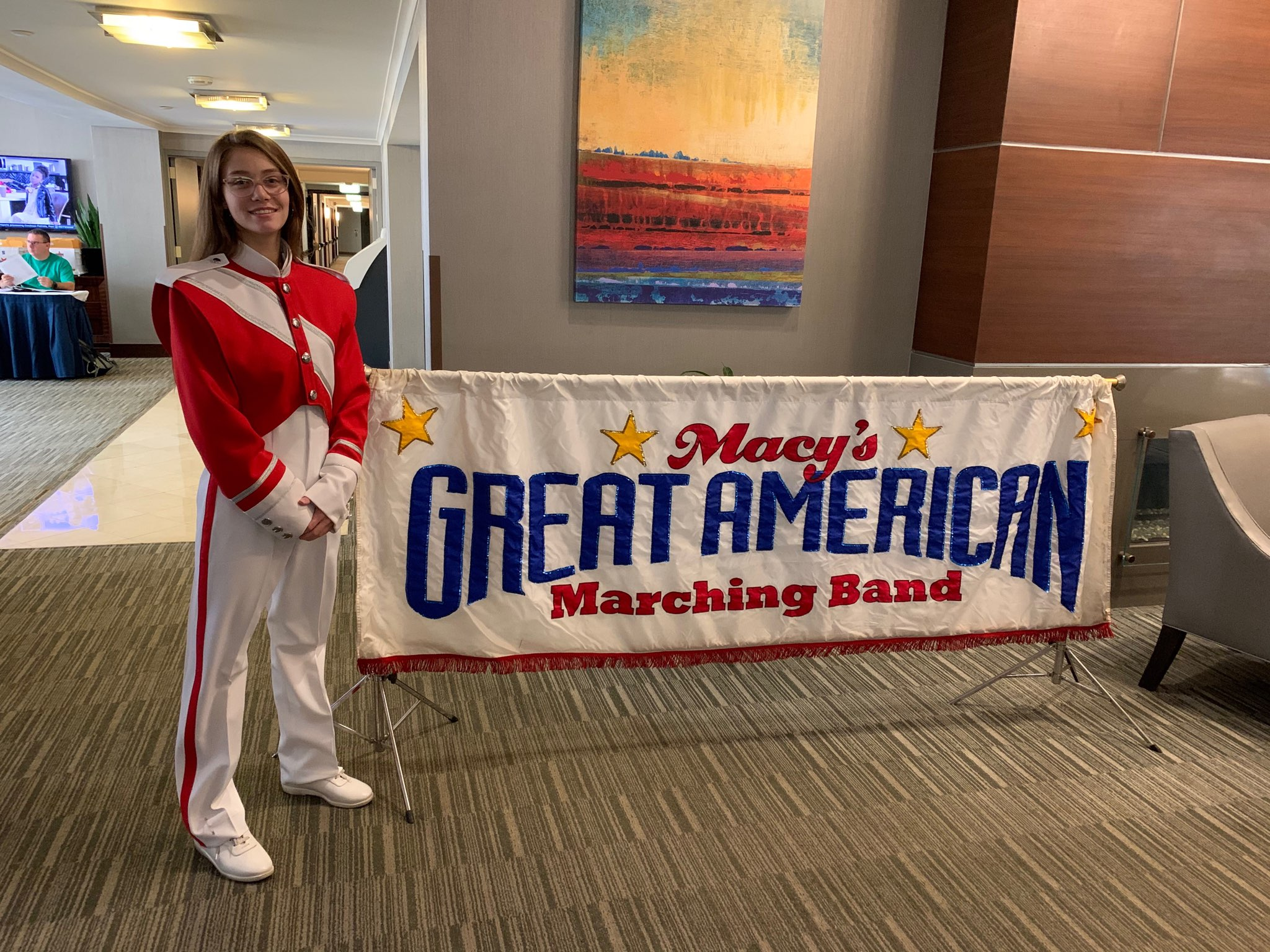 Madison Rombough, Sophomore Flutist will march in the Macy's Thanksgiving Day Parade in NYC!