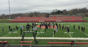 Marching Knights impress at the Friends & Family Performance